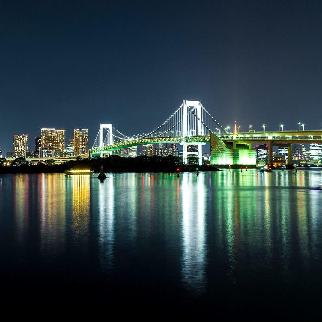 Rainbow bridge, Tokyo