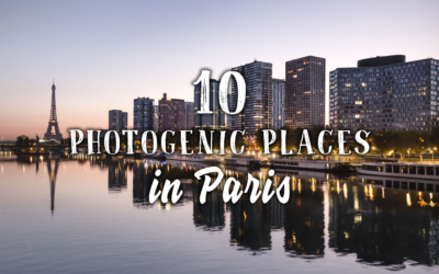 10 photogenic places in Paris